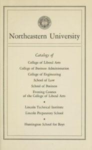 1946-1947 Course Catalogs