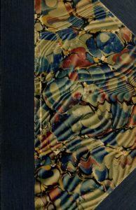 Multi-colored cover of the 1915-1916 Course Catalogs