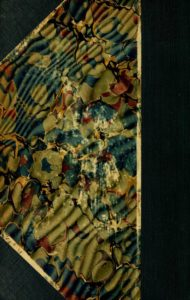 Multi-colored back cover of the 1917-1918 Course Catalogs