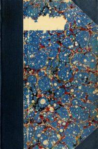 Multi-colored cover of the 1919-1920 Course Catalogs